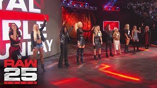 WWE honors female WWE Legends: Raw 25, Jan. 22, 2018