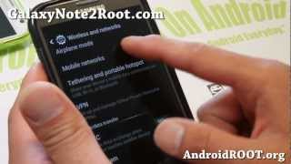 How To Enable T-Mobile 3G/4G AWS Bands On AT&T Galaxy Note