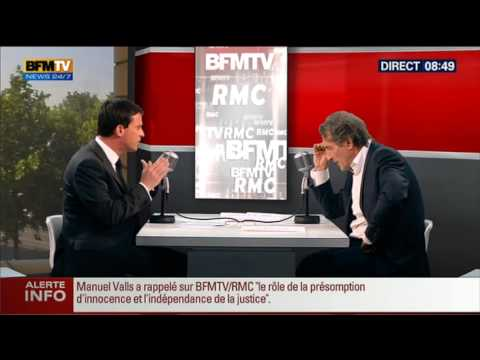 Bourdin Direct : Manuel Valls -- 02/07