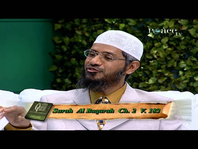 Let's strengthen the bonds this Ramadhaan by Dr Zakir Naik