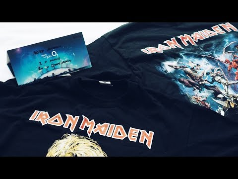 GOING TO SEE IRON MAIDEN AT THE O2 ad