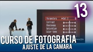 Curso de fotografía: Ajuste de la cámara
