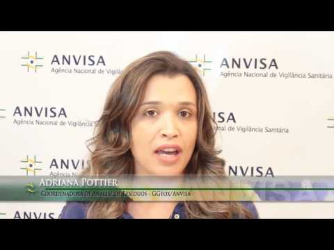 Vídeo ANVISA divulga relatório sobre resíduos de agrotóxicos em alimentos
