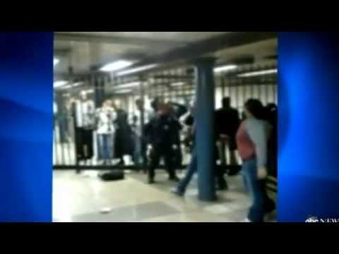 Subway fight....Teens Vs. Police