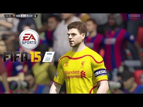 FC Barcelona Vs Liverpool 2014 Match Of The Day - FIFA 15 Demo PS4 Full HD