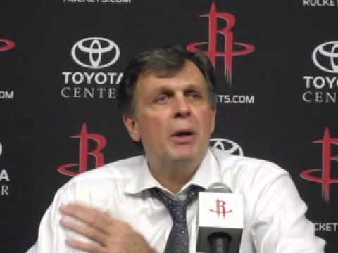 Kevin McHale after Houston Rockets 109-94 win over Chicago Bulls