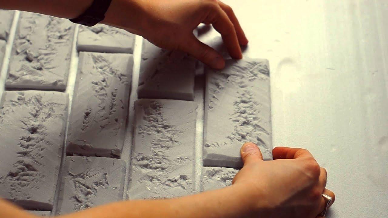 Декоративная плитка из бумаги
