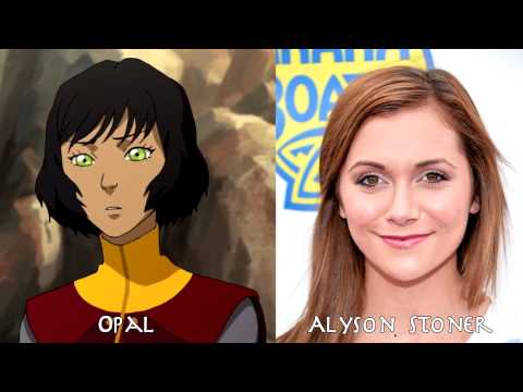 The Legend of Korra - Characters and Voice Actor (Book 1~4)