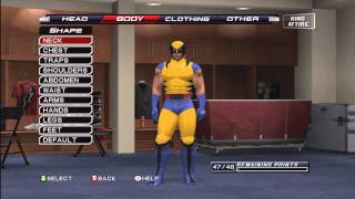 How To Make Wolverine (The X-Men) On Smackdown VS Raw 2011