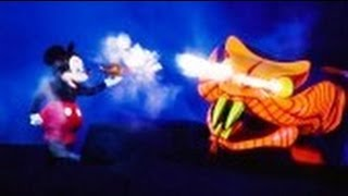 Fantasmic At Walt Disney World's Hollywood Studios! (in HD