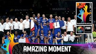 Lithuania v France - Amazing Moment - 2014 FIBA Basketball World Cup