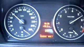 Разгон BMW 325i c двигателем N52B25 с 0-160 км/ч