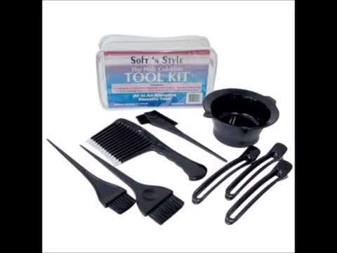 Soft 'N Style Hair Colorist Tool Kit 8 Piece