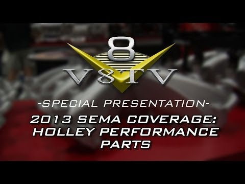 2013 SEMA Video Coverage: Holley Performance Products LS Intakes, Pan,