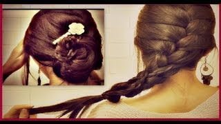 ★ HOW TO: FRENCH BRAID YOUR OWN HAIR TUTORIAL| ROMANTIC