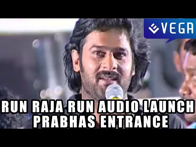 Run Raja Run Movie Audio Launch - Prabhas Entrance