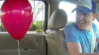 Crazy Balloon Experiment: Smarter Every Day
