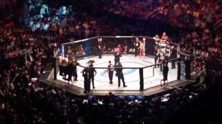 UFC RIO 142 ENTRADA JOSÉ ALDO + BRUCE BUFFER ITS TIME
