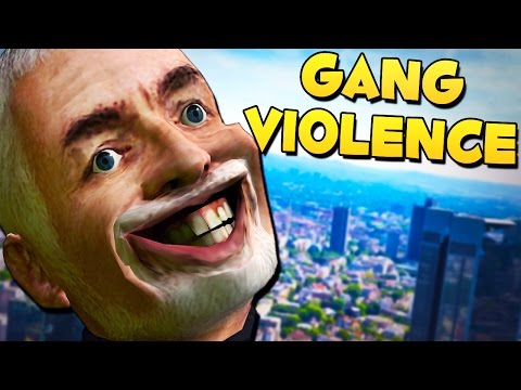 GANG VIOLENCE - Gmod DarkRP Funny Moments
