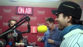 Hao123-Enrique Iglesias - Backstage at Heros Concert