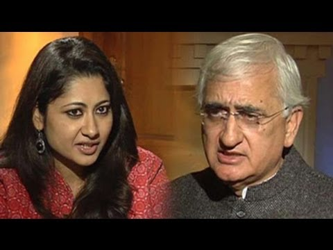 AAP anarchists, has some third rate members: Salman Khurshid to NDTV