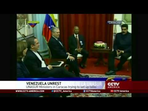 Latin American Foreign Ministers Mediate Talks in Venezuela