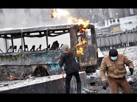 Protesters killed during Ukraine clashes