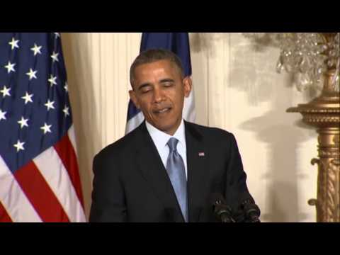 Obama Speaks Out on NSA, Iran, Syria Struggles