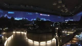 Hans Peter Porsche TraumWerk Modellbahn Laser Licht Nachtsimulation [Full HD]