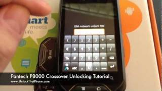 How To Unlock Pantech Crossover P8000 With Code + Full