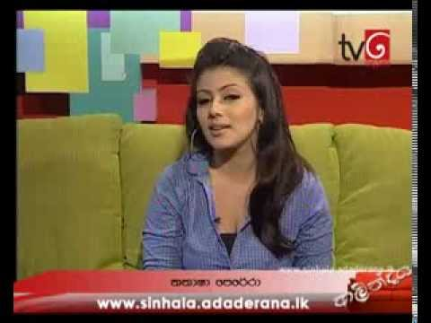Derana Tv - Interview with Natasha Perera | Sri Lankan Actress
