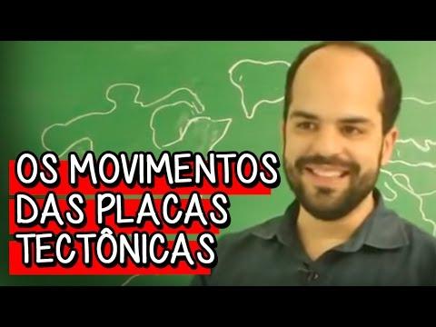 Os Movimentos das Placas Tectônicas - Aula ao Vivo de Geografia | Descomplica