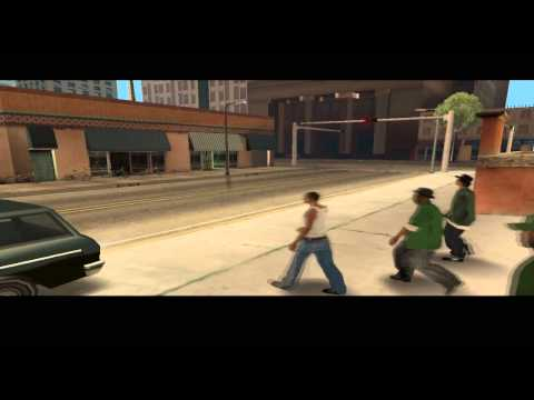 GTA San Andreas Walkthrough ITA - Missione #1 [Big Smoke]
