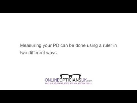How To Measure Your Pupil Distance - Online Opticians UK