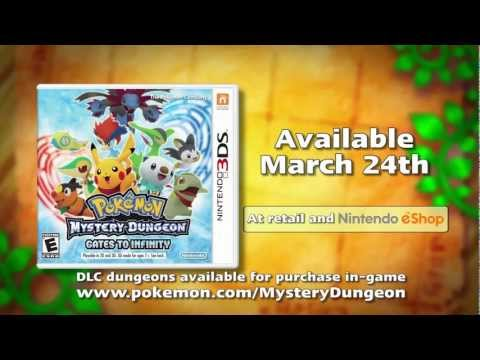 Pokémon Mystery Dungeon: Gates to Infinity Official English Trailer ...