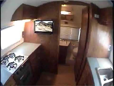 Airstream Globe Trotter Interior Restoration Youtube