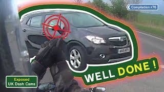 Exposed: UK Dash Cams - Poor Drivers, Road Rage + Crash Compilation #76