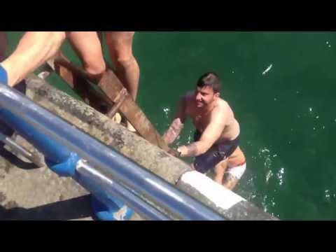 Sexy boys semi-naked bombing in Guernsey - Summer 2013 | Winky Stag