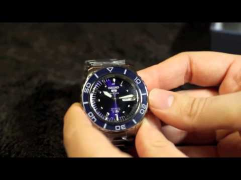 "Seiko ""Fifty Fathoms"" Mens Watch Review - SNZH53K1 / SNZH57K1 / SNZH55K1"