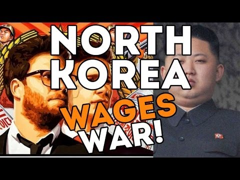 NORTH KOREA WAGES WAR OVER A MOVIE! -