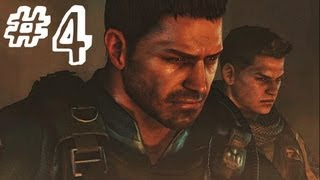 Resident Evil 6 Gameplay Walkthrough Part 4 THE ESCAPE