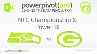 SEA Vs GB NFC Championship Game: Visualized In Power BI
