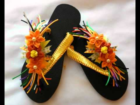 Sandalias Decoradas 1.mp4 - YouTube