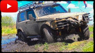 НИВА vs Mitsubishi Pajero. Полный Привод 4х4 - Офф Роуд Видео.