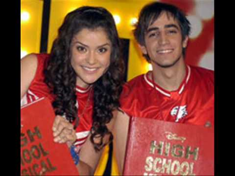 letra canciones high school musical traducidas: