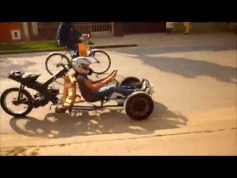 3 Wheels Homemade Go Kart