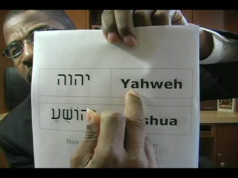 Satan Changed The Savior's Name (4 of 4) - It's Yahshua NOT Joshua