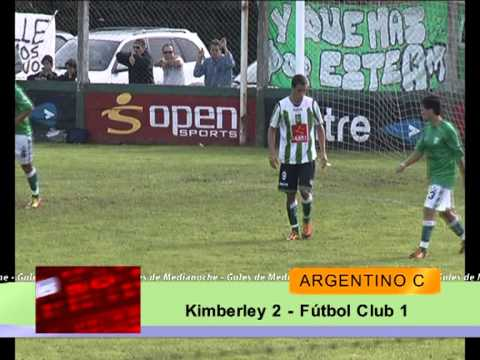Kimberley (MDP) 2 - F.C. (Tres Algarrobos) 1