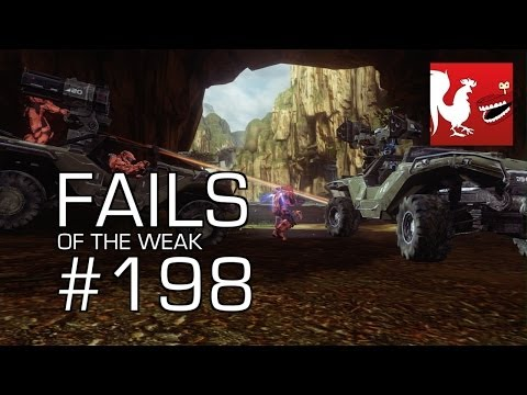 Fails of the Weak - Funny Halo Bloopers and Screw Ups! - Volume 198