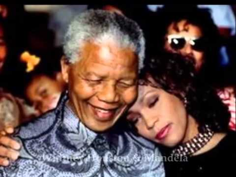 NELSON MANDELA : Celebs Who Appeared With Nelson Mandela PICS (Beyonce/Jay Z/Oprah/Whitney Houston)